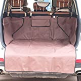 Awon AW168272 Pet Seat Cover for Cars Waterproof & Washable Trunk Cargo Liner Bed Floor Mat - 52