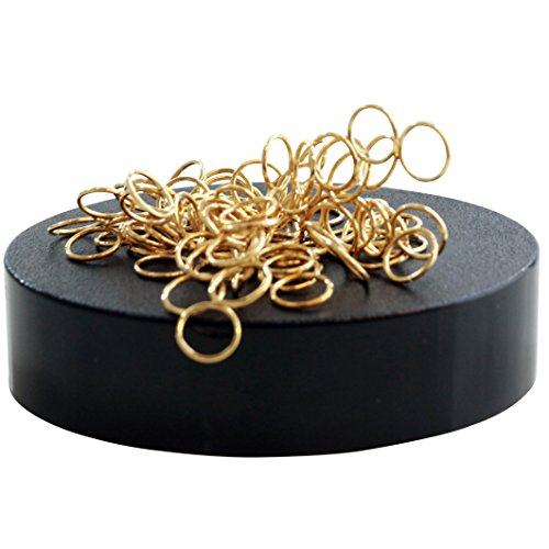 IQ Toys Magnetic Sculpture Desk Accessory (Rings)