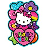 Postcard Thank You Cards | Hello Kitty Rainbow Collection | Party Accessory