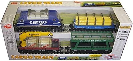 schwarz Gerade Gleise Dickie Train New Ray Schiene Zug Lok Eisenbahn