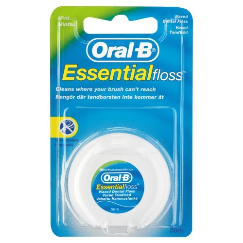 Oral-B Essential Mint Floss - Oral B Essential Floss Waxed
