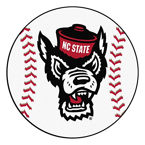 FANMATS NCAA North Carolina State Wolfpack Universitybaseball Mat, Team Color, One Size ()