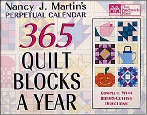 perpetual quilt calendar - 2