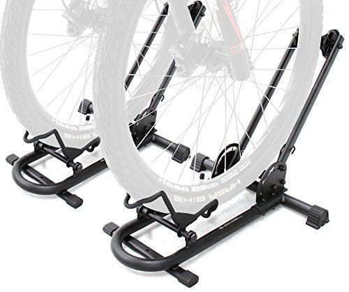 2 Bike Floor Stand - Bikehand Bike Floor Parking Rack Storage Stand Bicycle Pack of 2
