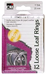Charles Leonard Rings - Loose Leaf - Reusable Box - 1\