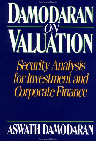 Damodaran on Valuation: Security Analysis for Investment and Corporate Finance (Frontiers in Finance Series)