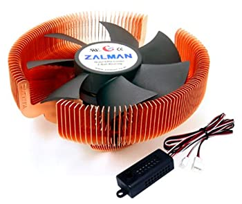 ZALMAN Computer Noise Prevention System with Silent Fan and Copper Heatsink CPU Cooler CNPS7700-CU