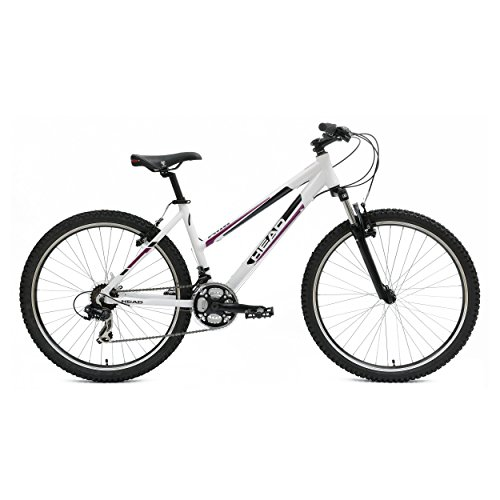 Head Aim W26 Mountain Bicycle, White, 19-Inch/Medium