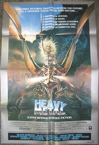 Heavy Metal Original U S 1 Sheet Movie Poster At Amazon S Entertainment Collectibles Store