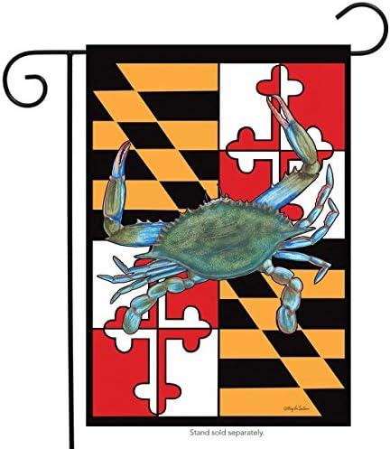 "Blue Crab Bushel Summer Garden Flag Nautical 12.5/"" x 18/"" Briarwood Lane"