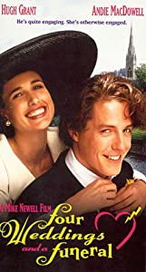 Four weddings a funeral vhs hugh grant for Four weddings and a funeral director mike