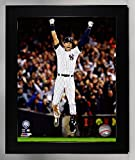 Framed New York Yankees Derek Jeter. The Captain Plays His Last Game At Yankee Stadium 8x10 Photograph Picture. (Jump)
