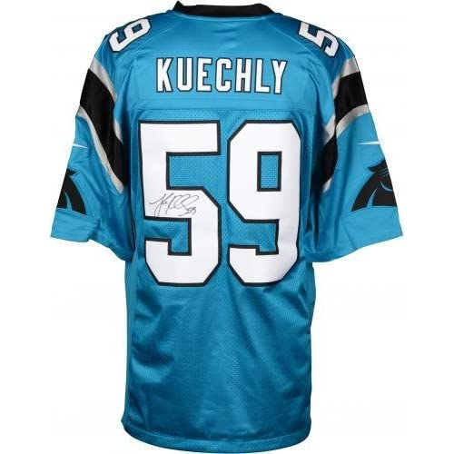huge selection of 55e32 75e2c Framed Luke Kuechly Carolina Panthers Autographed Nike ...