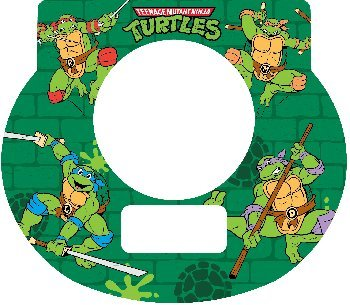 Tot Clock Faceplate Teenage Mutant Ninja Turtles (Ninja Turtles Face)
