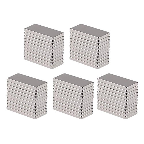 50pcs N50 20x10x2mm Neodymium Block Magnet Oblong Super Strong Rare Earth Magnets SINGLE ITEM