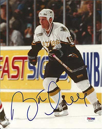 Brett Hull Signed Dallas Stars 8x10 Photo - PSA/DNA Certified - Signed Autograph