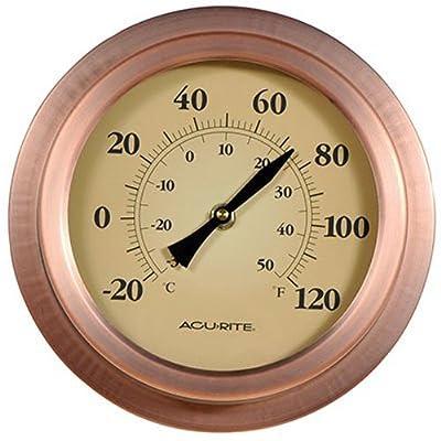 AcuRite 0232120,3cm en cuivre Hublot Thermomètre
