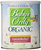 Baby's Only Toddler Formula, Lactose Relief, Organic, 12.7-Ounce Can (Pack of 2) Size: 12.7 Ounce (Pack of 2) Model: (Newborn, Child, Infant)