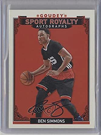 Ben Simmons (Trading Card) 2016 Upper Deck Goodwin Champions - Goudey Sport Royalty Autographs #SR-BS