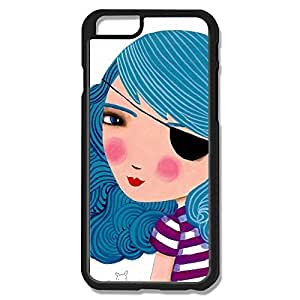IPhone 6 Cases Bule Girl Design Hard Back Cover Cases Desgined By RRG2G