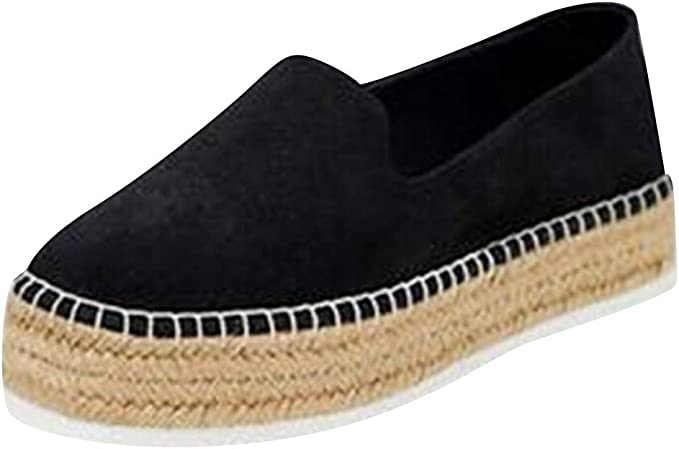 HHyyq Plateforme Creuse pour Femme Casual Chaussures