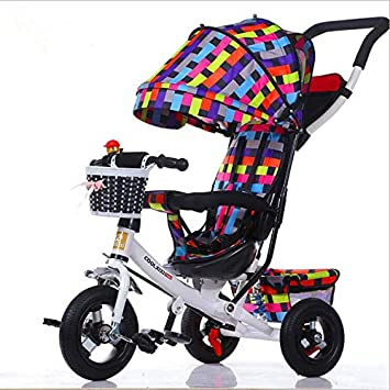 WANGYONGQI Bicicleta Plegable portátil bebé Bicicleta bebé Coche ...
