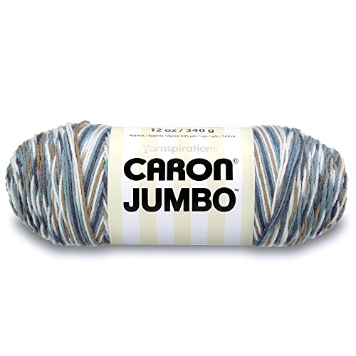 Caron Jumbo Ombre Yarn, 12 oz, Country Basket, 1 Ball