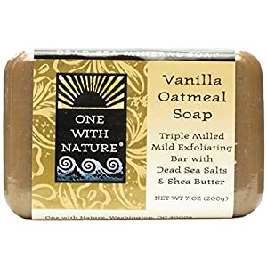 One With Nature Vanilla Oatmeal Soap 200 g by One With Nature