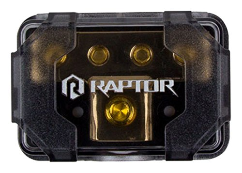 B0194MSLVE Raptor R4DB1 MID SERIES - 4-Position Ground Distribution Block 51P2LyQGTKL