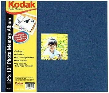 Rosa Arte Kodak 12 x 12 de recortes, azul marino