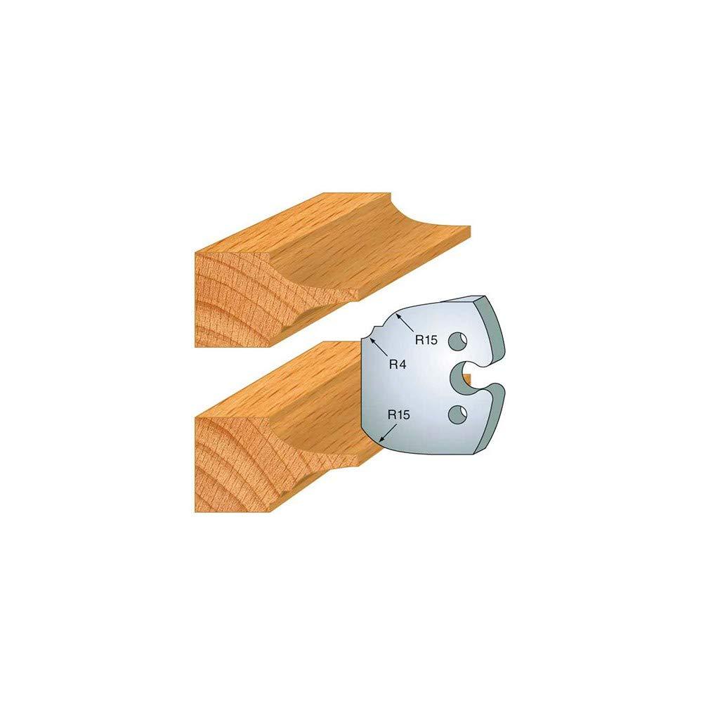 Jeu de 2 fers plate bande ht 50 mm pour porte outils entraxe plot 24 mm 252