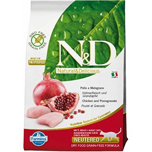 Farmina N&D Grain Free Neutered para gatos 300 gr.: Amazon.es: Productos para mascotas