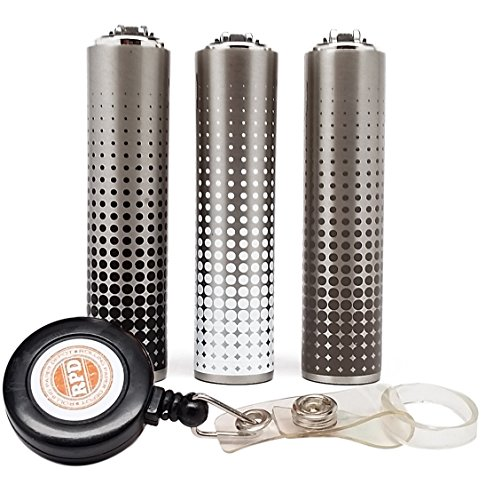 Bundle-4-Items-Metal-Clipper-Lighter-Metal-Dots-Design-Collection-with-Free-RPD-Lighter-Lasso