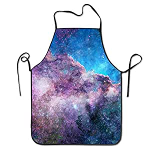 EDWARBE Colorful Durable Comfortable Cooking Casual Kitchen Cooking Apron Adjustable Waist Ties,One Size For Man,Woman
