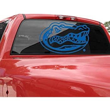"Amazon.com: Crawford Graphix Florida Gators 6"" White Logo ..."
