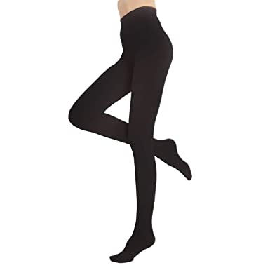 ae7a2ea5c Blostirno Women s Fleece Lined Leggings Thermal Pantyhose Tights (Black  Footed ...