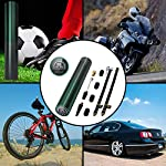 ICARMAINT-Compressore-Portatile-Mini-Pompa-Bicicletta-Elettrica-3000mAh-Ricaricabile-Compressore-Aria-Portatile-Auto-Pompa-di-Aria-Elettrica-per-Auto-MotoPalloni-con-LED-e-Digitale-LCD-120PSI-12VDC