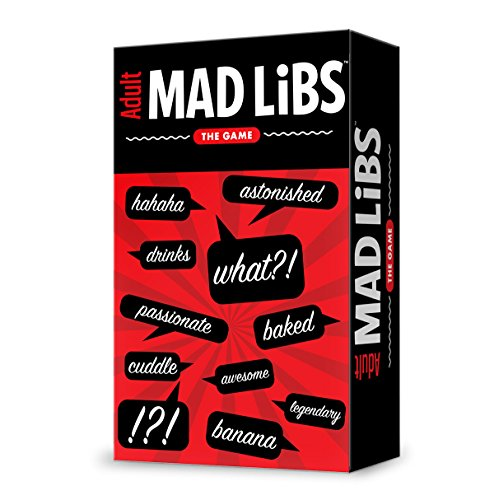 Fully Baked Ideas Mad Libs Board Games