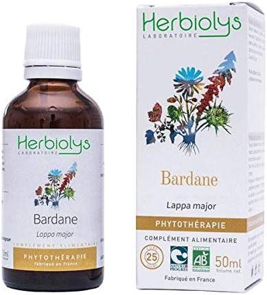 Herbiolys – Tinte madre de Gran Bardana Bio – 50 ml