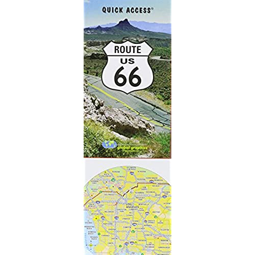 Map of Route 66: Amazon.com