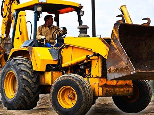 Construction Backhoe for Kids