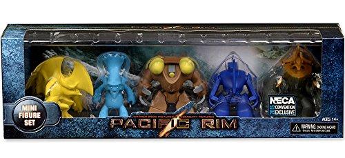"NECA Pacific Rim Replica Box Set Exclusive 3"" Mini Figure 5-Pack"