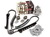 Evergreen TK6054EWOP Fits 97-01 Ford Lincoln 5.4 SOHC 16V VIN L Timing Chain Kit Oil Pump GMB Water Pump