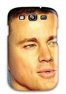 Awesome TpmTguP585aYtoZ ZippyDoritEduard Defender Tpu Hard Case Cover For Galaxy S3- Channing Tatum