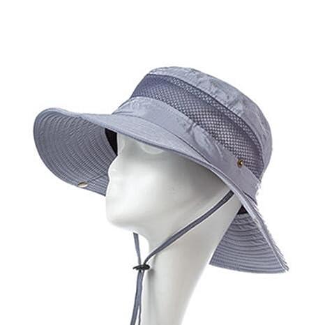Sunny Sombrero para El Sol Temporada De Verano Hombre Algodón Poliéster  Aire Libre De Moda Turismo 8050a2358a0