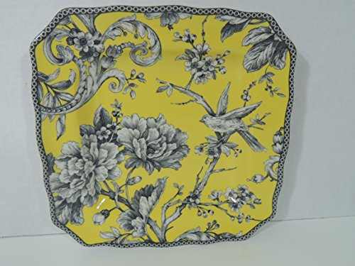Porcelain Plate Toile (222 Fifth Adelaide Yellow Porcelain Single Salad Plate 8.5