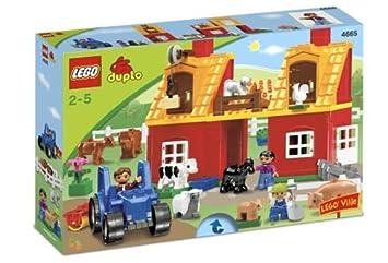 Lego Duplo 4665 Großer Bauernhof Amazonde Spielzeug