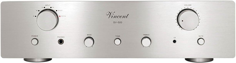 Vincent Audio SV 500 Hybrid Integrated Amplifier - Silver