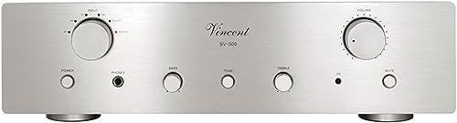 Vincent Audio SV 500 Hybrid Integrated Amplifier – Silver