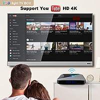 WFGZQ Android 9.0 TV Box, S905X3 Quad-Core A Reproductor Multimedia 4GB RAM / 64GB ROM Compatible con 2.4Ghz / 5.0Ghz WiFi Bluetooth 4.0, 4K HDMI DLNA 3D Smart TV Box,4gb+64gb: Amazon.es: Hogar